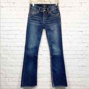 Silver Jeans | Suki Surplus Flare stretch
